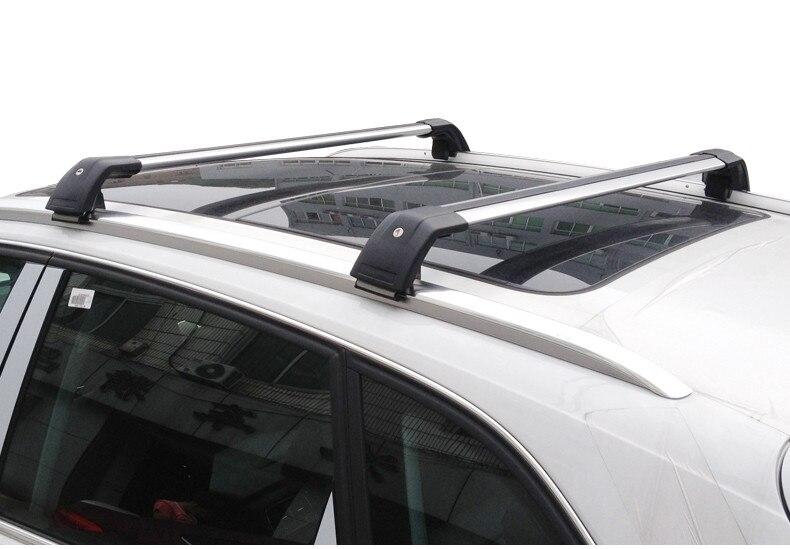 2 PCS Luggage Cross Bar for VOLVO V60 2012-2018 Roof Rail Rack Aluminum