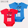 Bodysuit Baby Newborn Clothes Cute Cartoon Printed Rompers Short Sleeve Cotton Jumpsuit Baby Boys Girls Clothes Twins