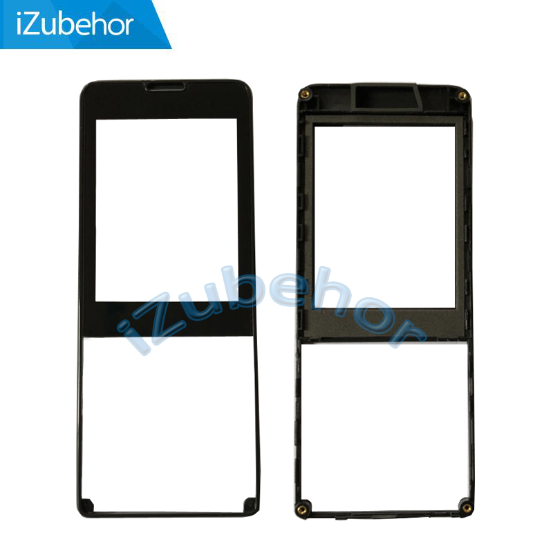 100% warranty Black Touch digitizer Glass Screen +Front housing For Philips X1560 by free shipping image