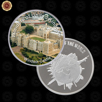 WR Luxury Home Decor Wonders of United Kingdom Metal Coin Quality 999.9 Silver Commemorative Coins Worth Collection