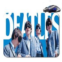 The Beatles Band Wholesale Custom font b Gaming b font Mouse Mat High Quality Durable Fashion
