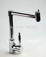 Pro advanced Стиль chrome отделка умеренная цена Поворотный кухонный раковина кран и бассейна смесителя ad-1294