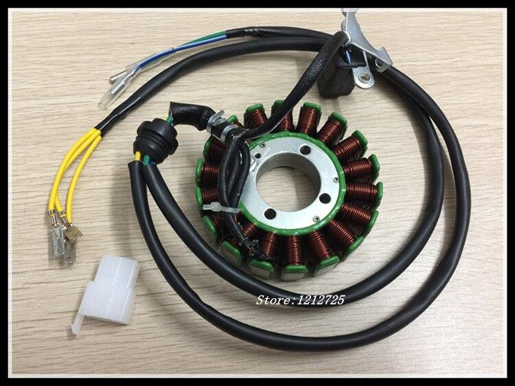 magneto pentru motocicletă stator bobină CG200 CG250 CG300 moto 18 - Accesorii si piese pentru motociclete