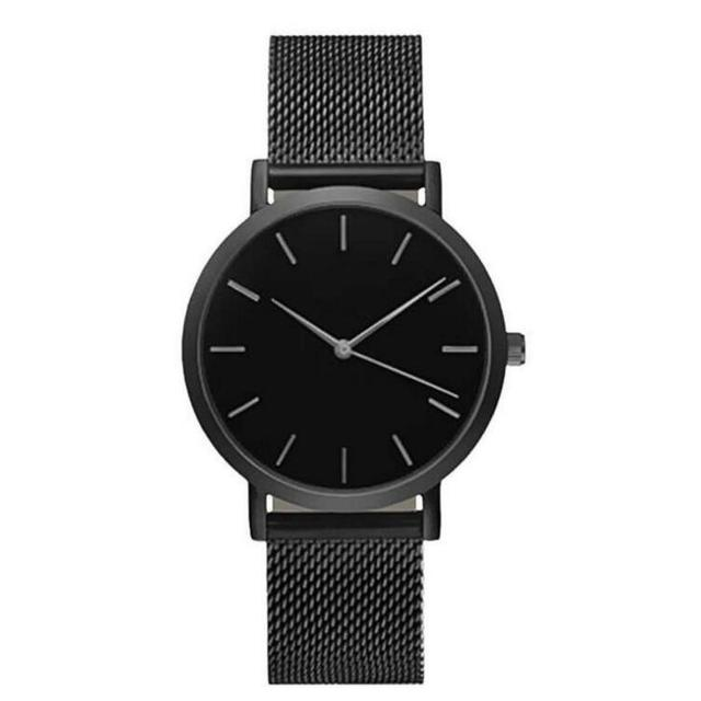 2019 Luxury Women Metal Mesh Watch Simplicity Classic Wrist Fashion Casual Quartz High Quality Women's Watches Relogio Masculino 3