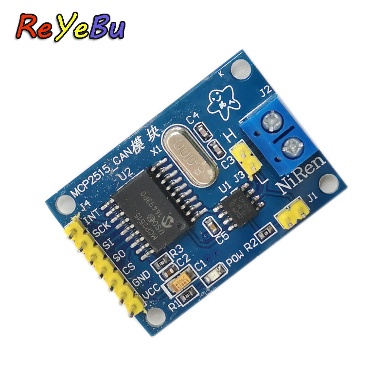MCP2515 CAN Bus Module TJA1050 Receiver SPI For 51 MCU ARM Controller