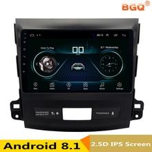 9 «Android 8,1 автомобиль DVD gps для Mitsubishi Outlander 2006-2012/peugeot 4007/Citroen C- крест автомобилей Радио Стерео Навигатор bluetooth