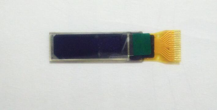0,69 Zoll Oled-display Weiß Blau Licht 96*16 Dot Matrix 14pin