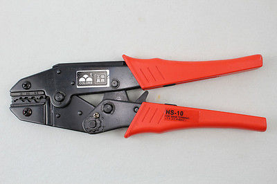 For Non Insulated Terminals Ratchet Crimping Plier 1.5-6.0mm  HS-10 QC