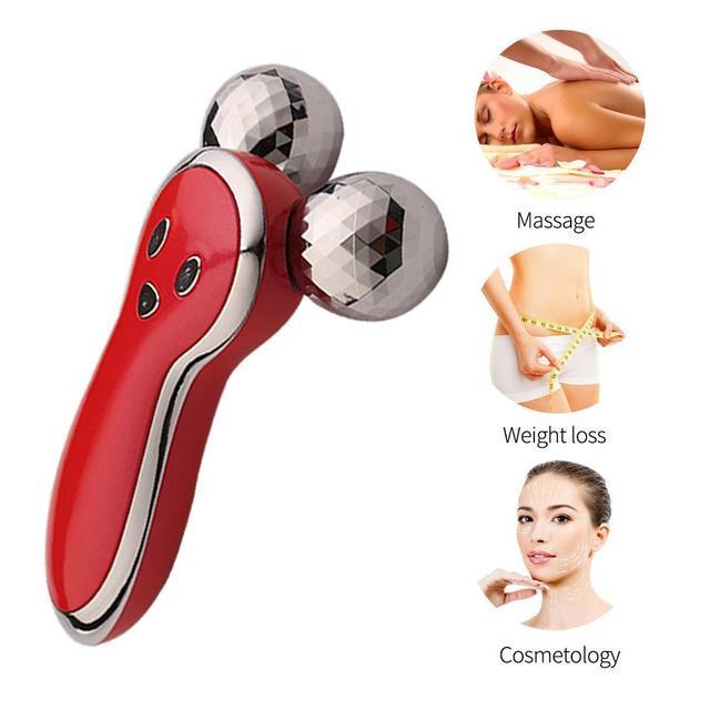 Microcurrent 3D Roller Massager