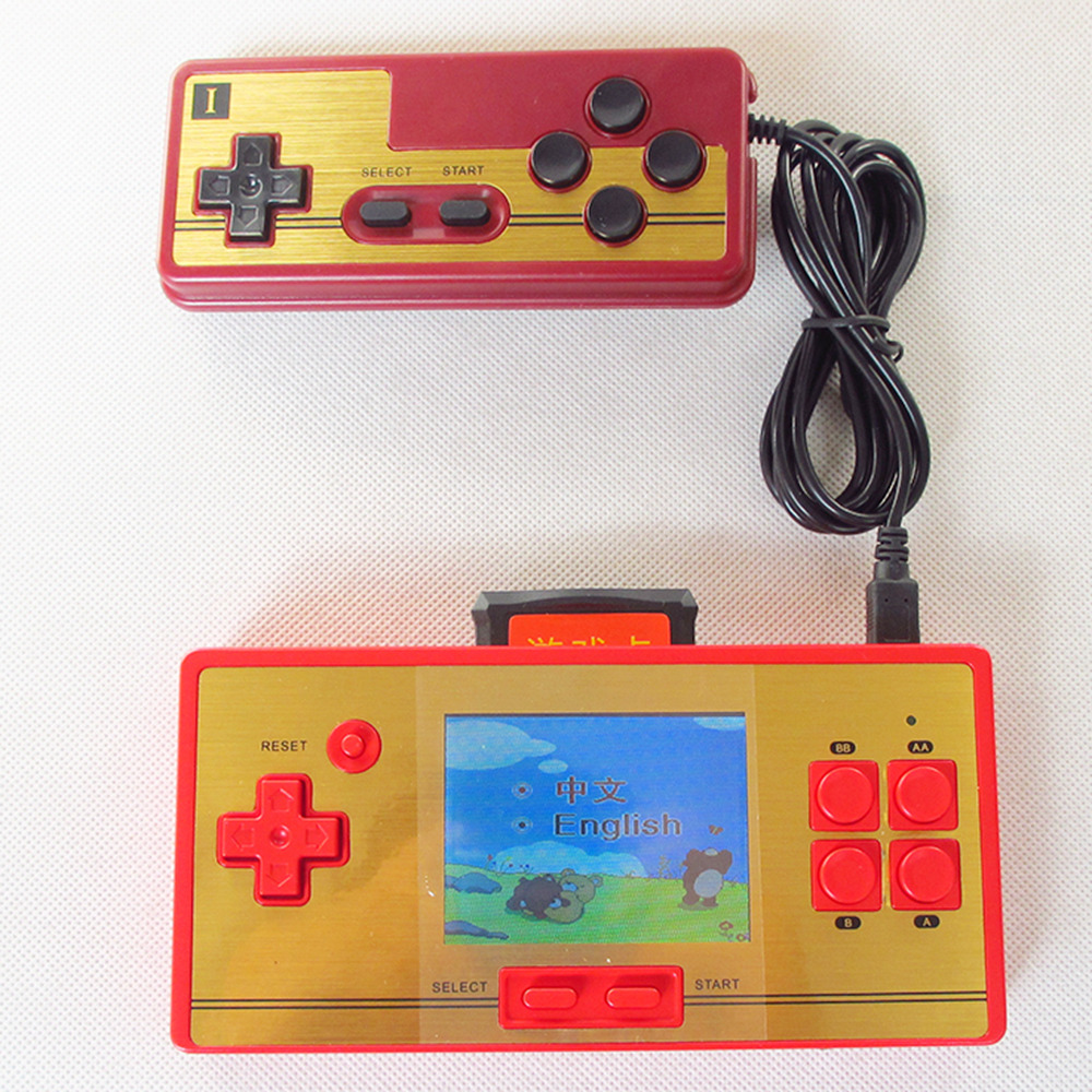 Game boy color online games - Hot Sale 2 0inch Video Game Color Lcd Screen Games Player Station 8bit Handheld Game Console