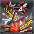 2016 GEICO GRAPHICS DECAL STICKERS KITS For HONDA CRF50 CRF 50 F 2004-2014 SDG SSR 50cc 70cc 110cc