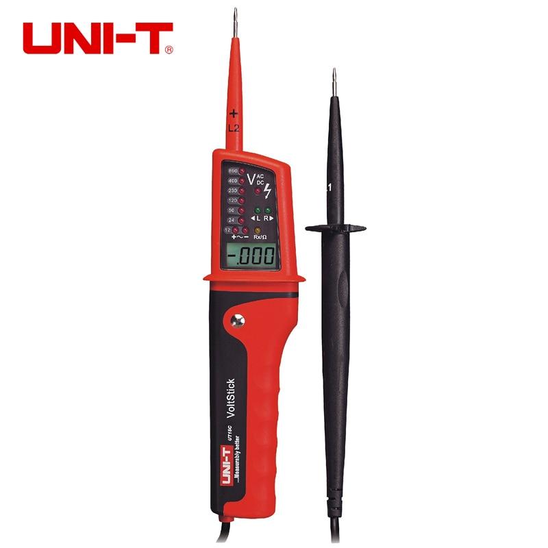 UNI-T UT15B UT15C мульти-Функция водонепроницаемые Напряжение детекторов с фонарь