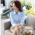New 2016 Women's Shirt Long Sleeve Women Blouses Ladies Office Shirts Plus Size Tops White Shirt Female Blusas Camisa Mujer