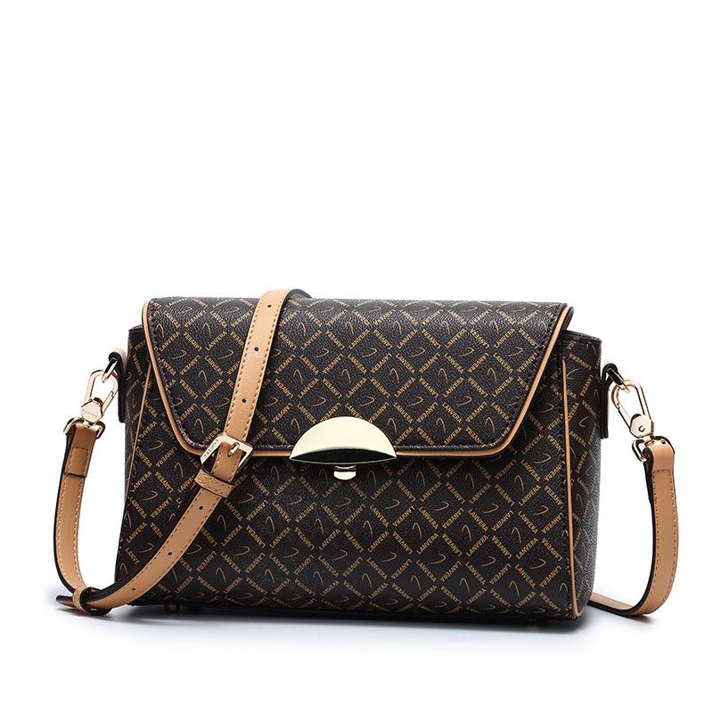 Europe and the United States ladies new wild shoulder bag Cross the Ministry of printed diagonal PVC leather handbag turtles of the united states and canada 2e