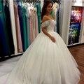 2017 Saudi Arabia Sleeveless Crystal Wedding Dress 2017 Ball Gown Sweetheart Beaded Wedding Dress Vestido De Noiva (SL-W662)