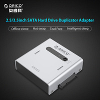 ORICO Dual Bay SATA Hard Drive Duplicator Support Offline Clone USB3 0 HDD Case For 2