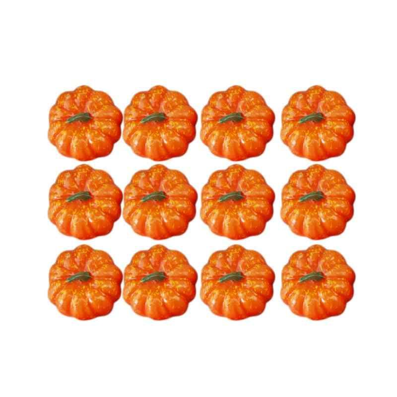 16 шт. искусственной имитации реалистичные небольшой пены тыквы Таблица Центральным реквизит для фотосессии вечерние поставляет Хэллоуин украшения