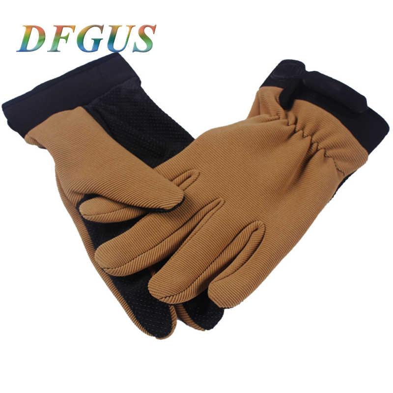 Di alta Qualità Guanti Tattici per Gli Uomini Outdoor Sports Anti-slip Finger Completa Guanti Dell'esercito Militare Guanti Donna Guanti Della Bicicletta