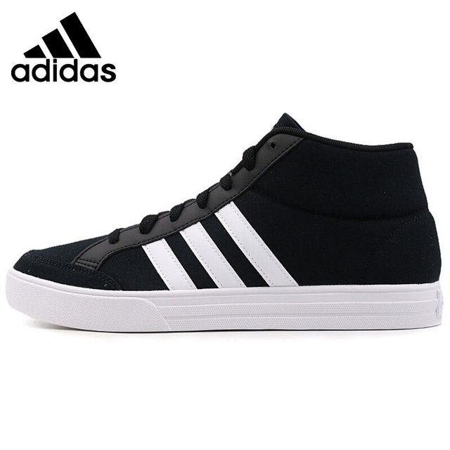 Original New Arrival 2018 Adidas VS SET MID Men s Basketball Shoes Sneakers 69371160b