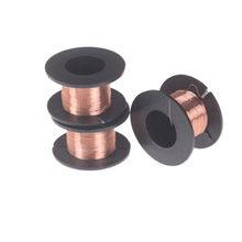 Fil magnétique rouge de fil de cuivre émaillé par QA de 1 pièces pour le relais de bobine d'inductance fil électrique d'aimant d'enroulement de bobine de mètre 0.1mm * 11m