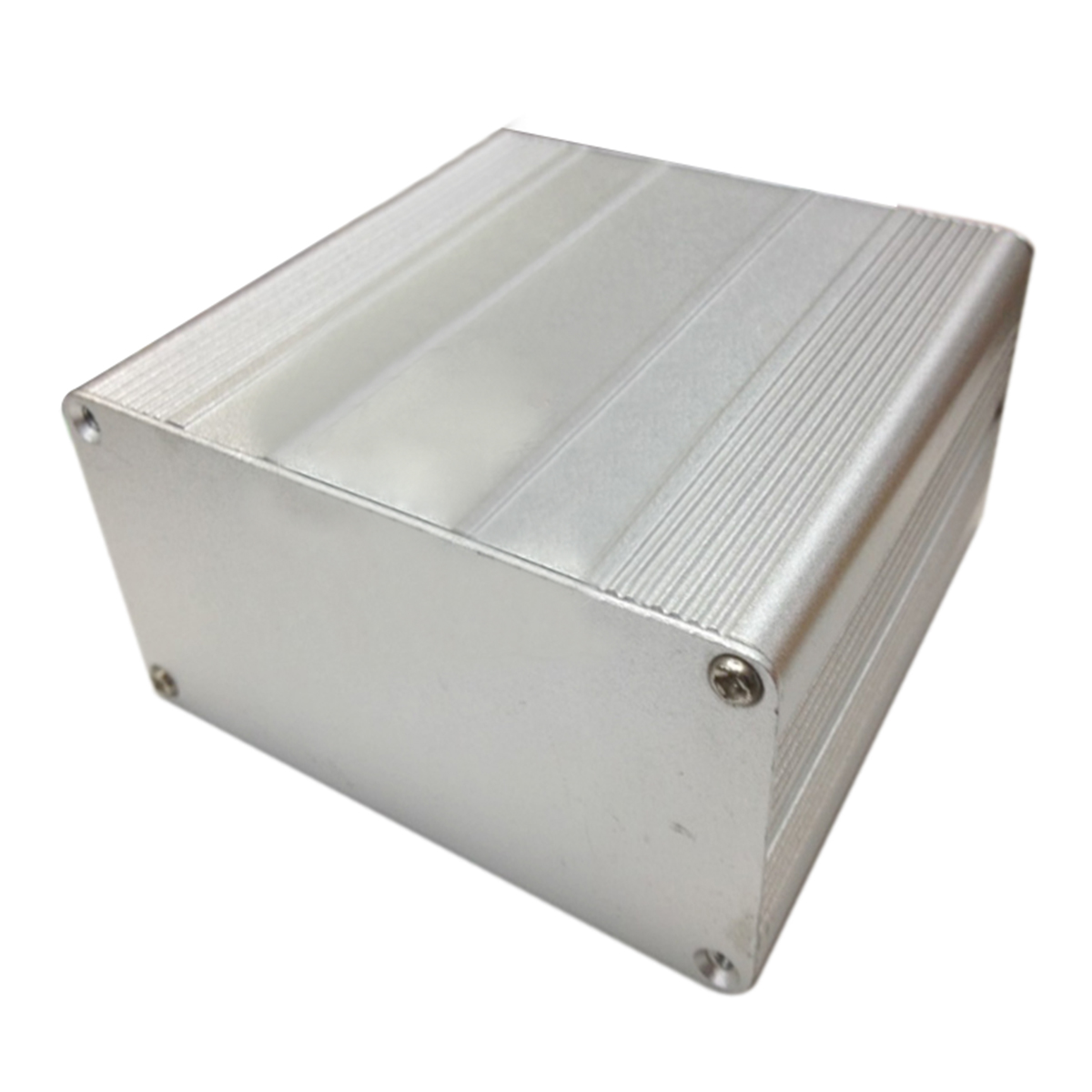 1pc Aluminum Electronic Project Enclosure Case DIY PCB Instrument Box 100x100x50mm with Screws e cap aluminum 16v 22 2200uf electrolytic capacitors pack for diy project white 9 x 10 pcs