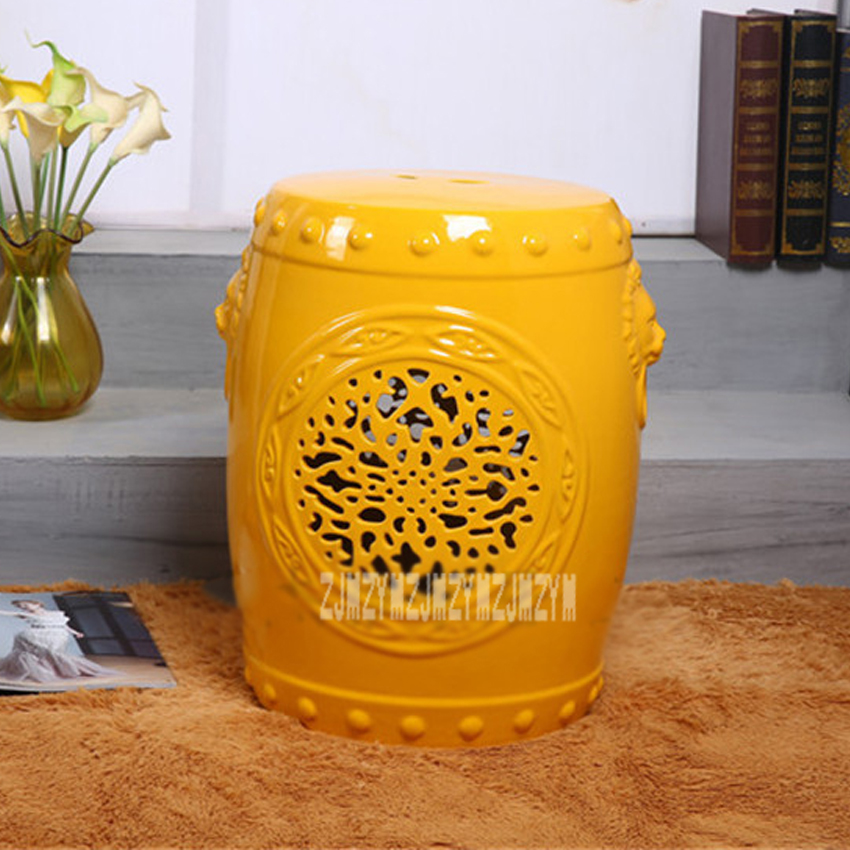 Fantastic 086257 Buy Ceramic Chinese Stool And Get Free Shipping Big Pabps2019 Chair Design Images Pabps2019Com