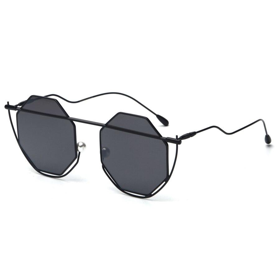 59af27dbc0 mimiyou Wrap Hexagon Frame Women Eyeglasses Vintage Fashion Sun Glasses  Lady Men 90 s Sunglasses 2018 oculos de sol feminino-in Sunglasses from  Women s ...