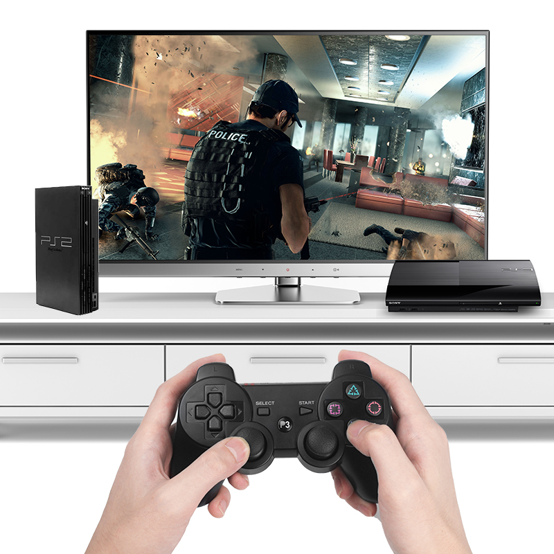 DATA FROG 2.4 G Wireless Gamepad For PS3/PS2 Game Joystick Gamepad For PC Joypad Game Controller For Android Smart Phone/TV Box