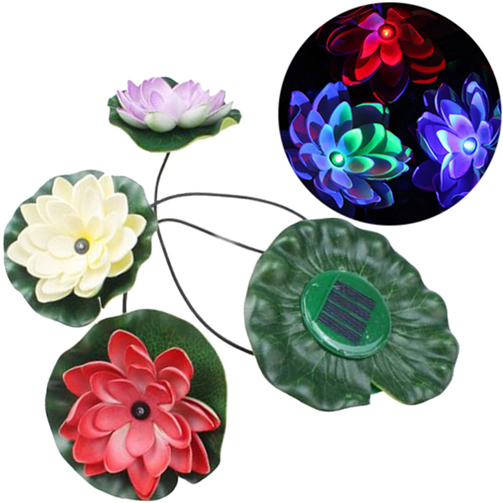 Online Get Cheap Color Changing Solar Garden Lights Aliexpress