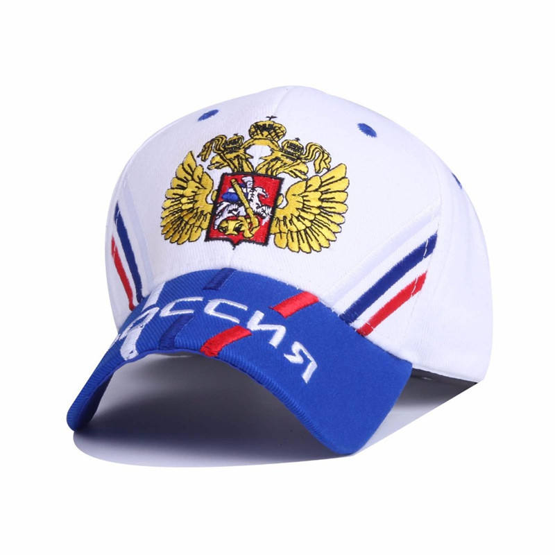 Cotton Russia National Emblem Embroidery Snapback Caps Unisex Baseball Cap Leisure Men Women Hats Ajustable Outerdoor Sun Hat new unisex 100% cotton outdoor baseball cap russian emblem embroidery snapback fashion sports hats for men