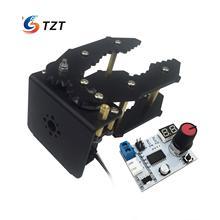 Mechanical Arm Hand Robot Clamp Claw Gripper w/ Servo & Controller for Car Robotics Arduino DIY Assembled