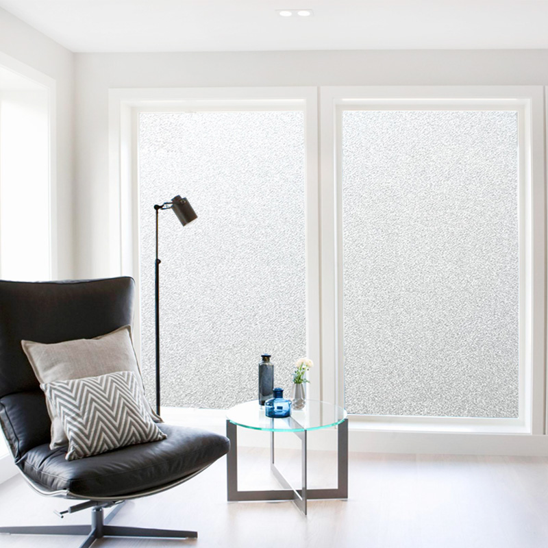 200Cm*45/60/90 Frosted Window Movie No Glue Self Adhesive Vinyl Static Cling Privateness Glass Door Sticker Toilet For Dwelling Decor