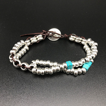 Youga fashion restoring ancient ways bracelet cowhide rope hand-woven personality of the original tribal style jewelry for women