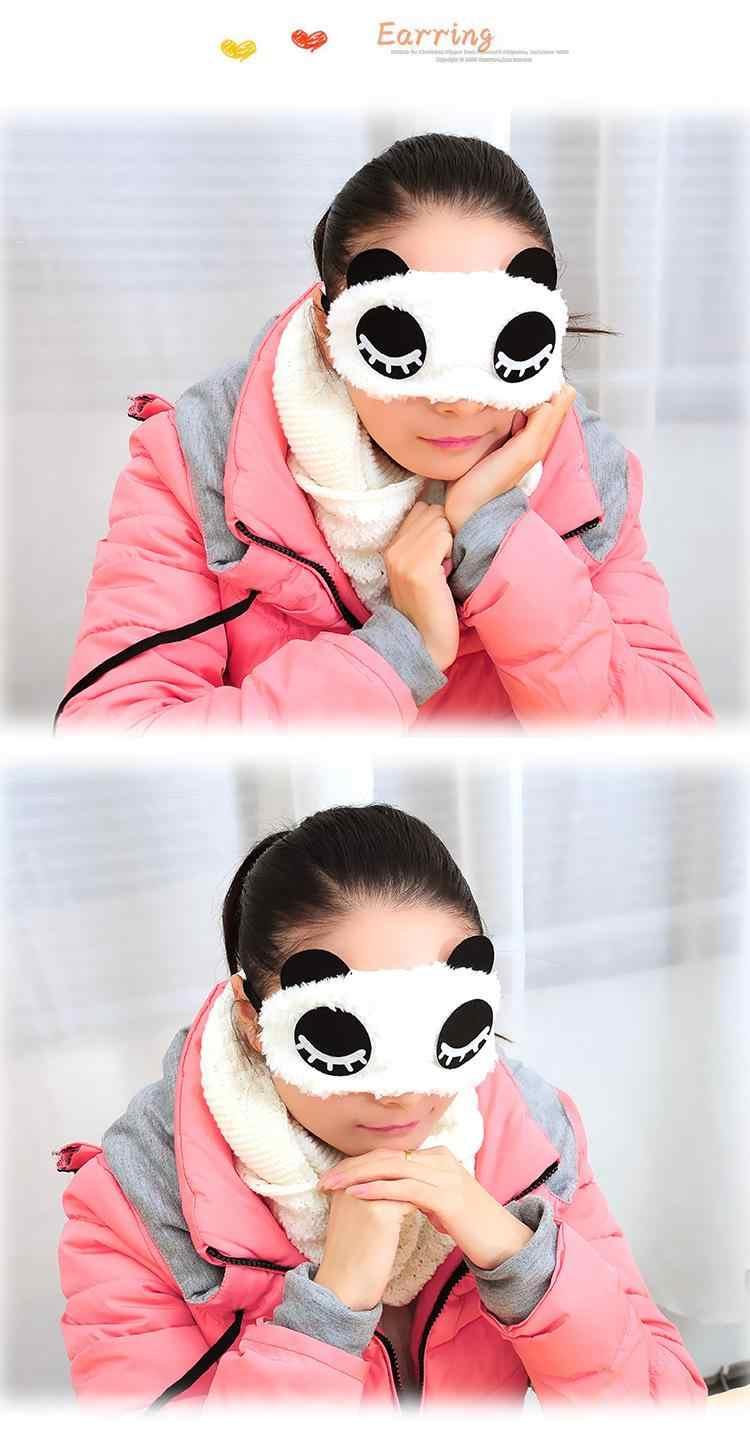 Travel Istirahat Spons Penutup penutup mata Perisai Mata Tidur Masker Mata penutup mata untuk perawatan kesehatan untuk melindungi cahaya 1 pcs/lot ym04