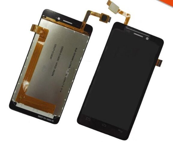 LCD Display And Touch Screen digitizer Assembly for BQ Aquaris E4 LCD Free Shipping Black