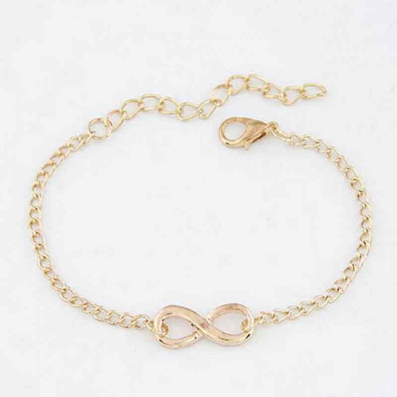 Корейская версия ювелирных изделий Мода ретро неограниченное 8 браслет женский браслет подарок оптовая продажа браслеты и браслеты браслет