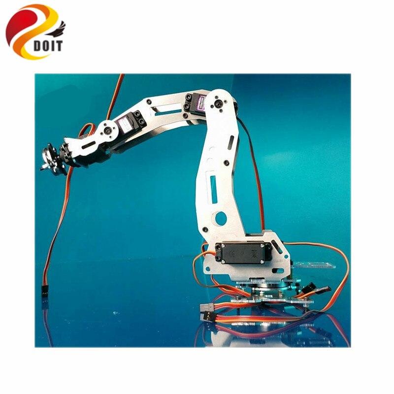 Official DOIT 6DOF Mechanical Arm A B B Industrial Robot Model Six-axis Robot Manipulator 6 dof robot arm six axis manipulators industrial robot model robot without controller mg996r