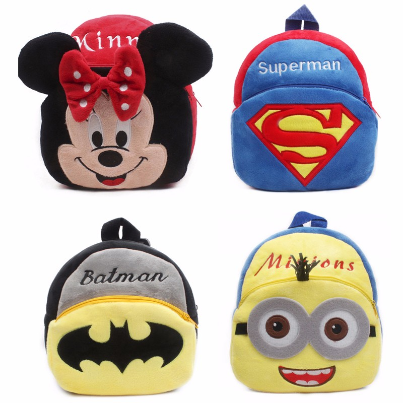 Plush-Cartoon-Kid-School-Backpack-For-Child-School-Bag-For-Kindergarten-Girl-Baby-Mochila-Infantil-Student