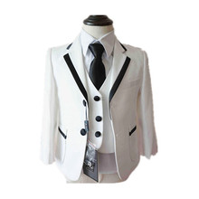 BBWOWLIN Baby Boy Clothes White Clothing Set Formal Costumes for 0 2T Infant Boys Christmas Wedding