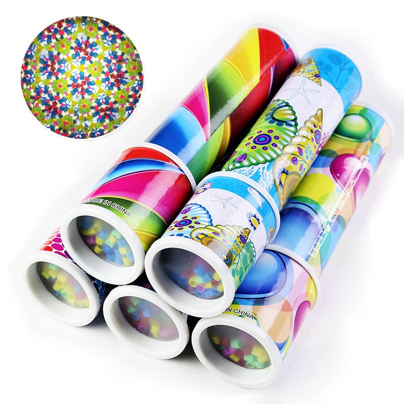New Style Children Educational Science Toy Classic Toys Large Twisting Kaleidoscopes Rotating Children's Toys 2017