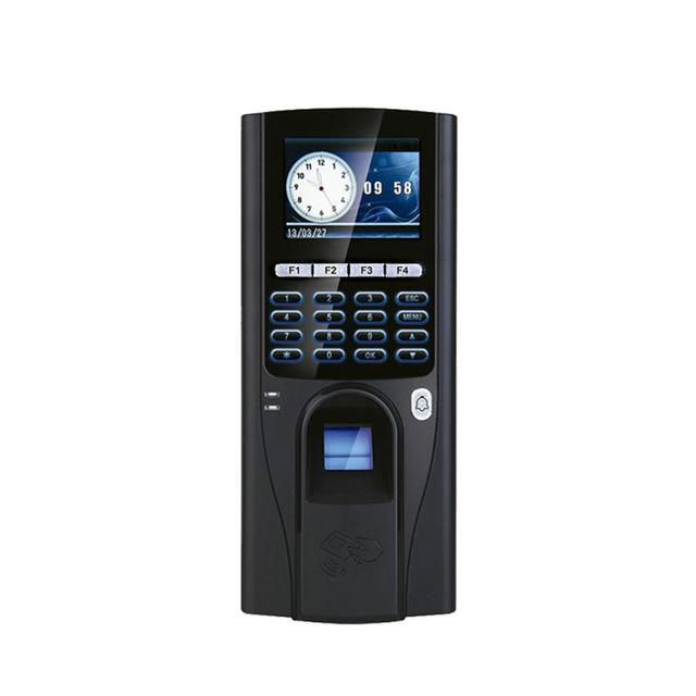 Oficina de la Huella Digital de Control de Acceso de Seguridad Domótica Controlador de Acceso RS485 TCP IP Exploración Dedo Cerradura de La Puerta