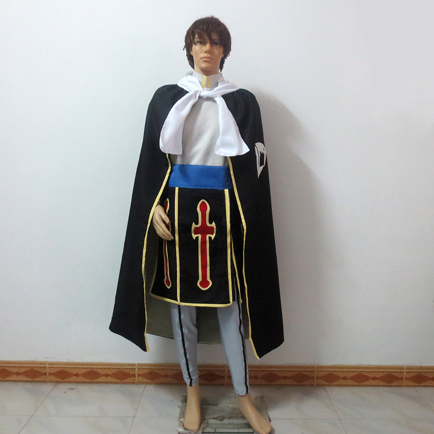 Fairy Tail Rogue Cheney Christmas Party Halloween Uniform Outfit Cosplay Costume Customize Any Size