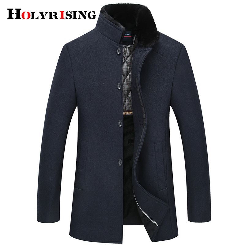 Brand Clothing Winter Parka Men Military Mid long Multi pockets Winter Coat Male Hooded Collar Thick