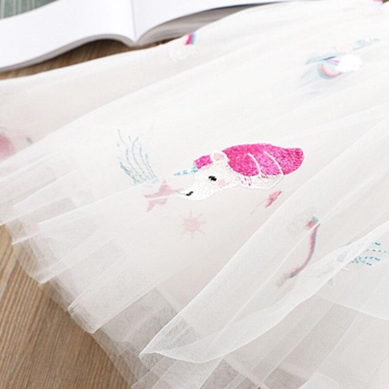 HTB1UaiERQzoK1RjSZFlq6yi4VXaq Girls Clothing Sets 2019 Summer Princess Girl Bling Star Flamingo Top + Bling Star Dress 2pcs Set Children Clothing Dresses