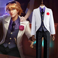 Game Fans LOL Browser Light Deacon EZ Ezreal Cosplay Costume Outfit Fancy Dress Complete Set