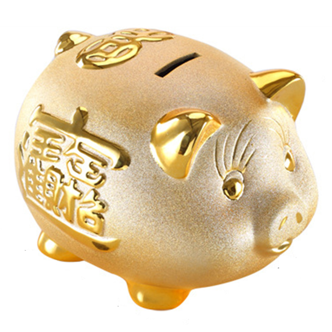 Online Buy Wholesale Gold Piggy Bank From China Gold Piggy