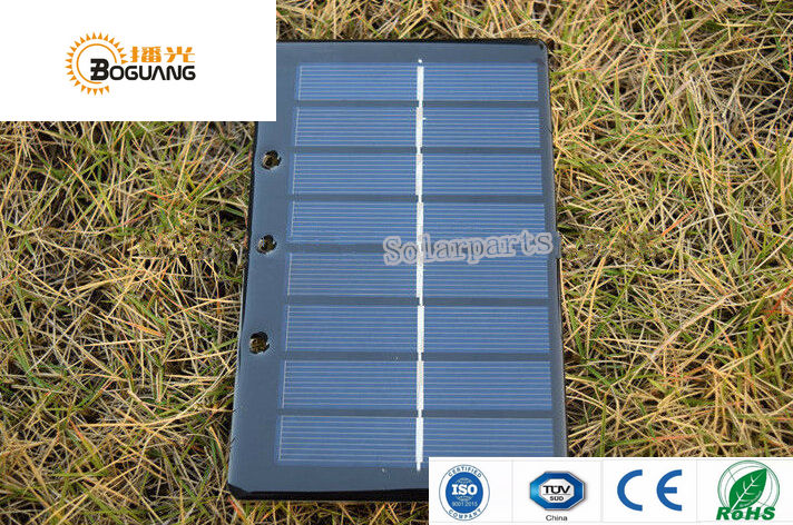 Xinpuguang 5pcs 2V 1.2W Polycrystalline epoxy resin portable eyelets solar panel for DIY kits toys charger factory directly
