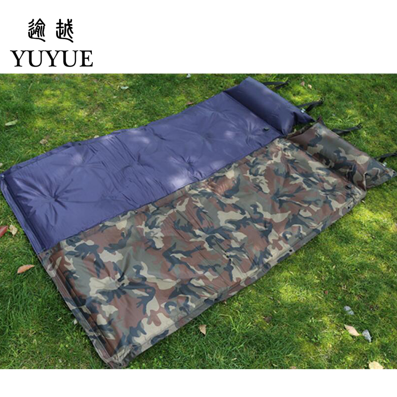 Cheap Waterproof Inflatable Mattress For Outdoor Camping Tent A Tourist Beach Blanket Inflatable Bed For Tent Sleeping bag 4