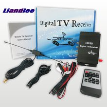 Liandlee Model M-488X Car Digital TV ATSC Receiver D-TV Mobile HD Turner For Dominican, El Salvador, Honduras, Puerto Rico