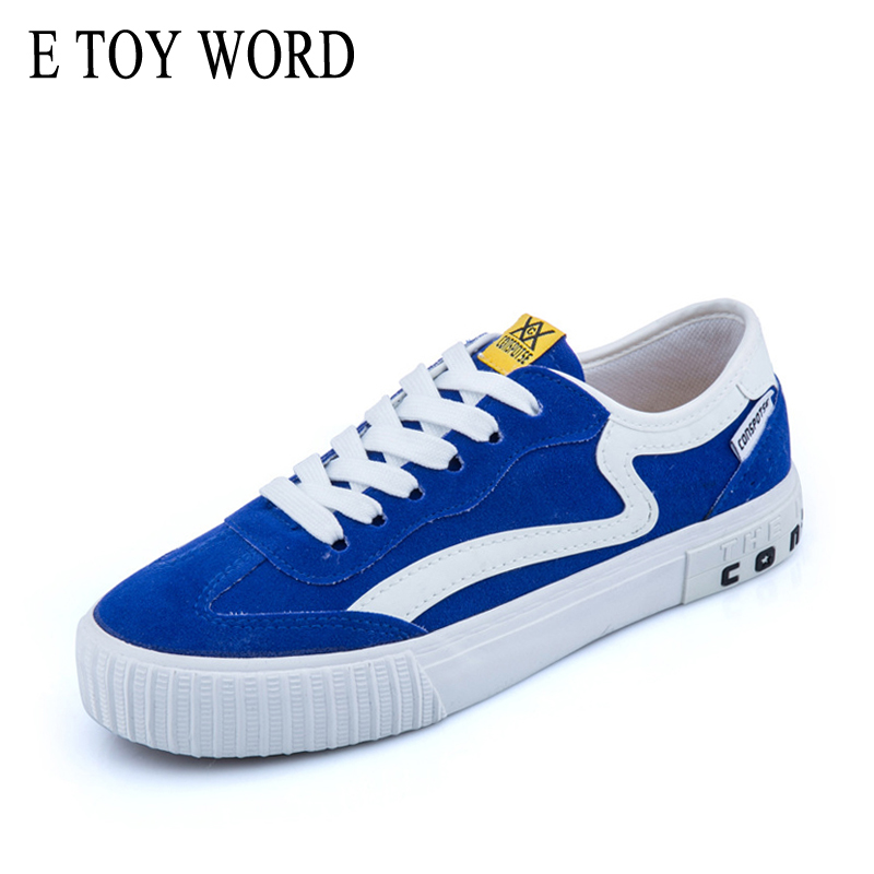 Vulcanized sneakers Women's flat canvas shoes spring autumn casual shoes women zapatos mujer lace up ladies shoes sneakers